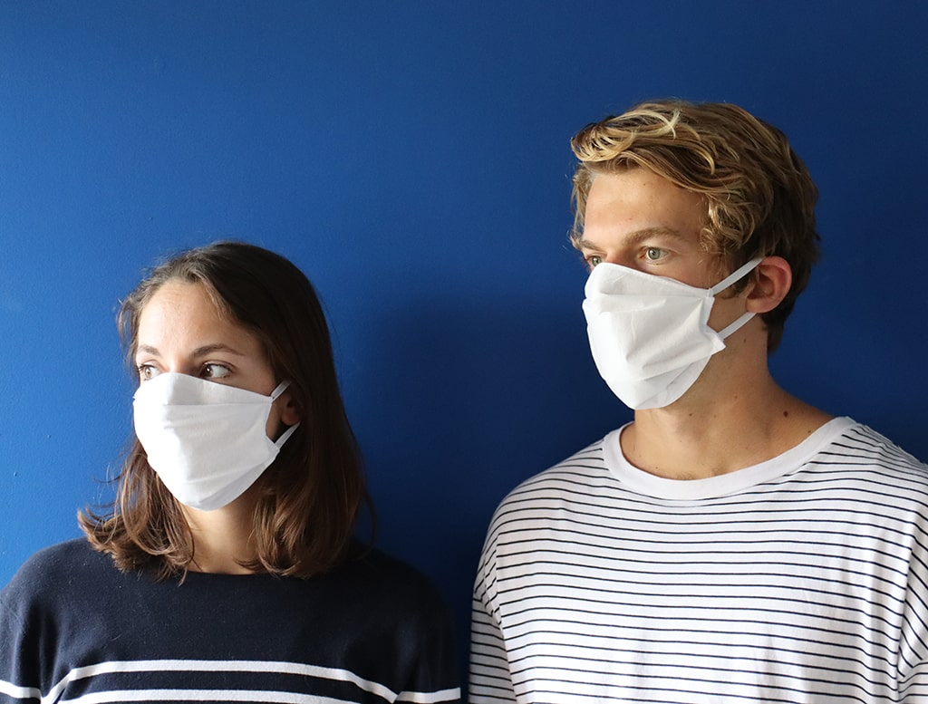 Masque lavable évalué par la DGA